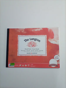 Langton Hot Pressed Smooth Watercolour Paper Pad