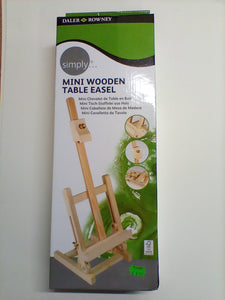 Mini Wooden Table Easel