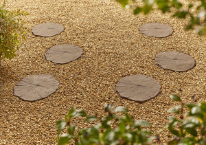 Timber Effect Stepping Stone