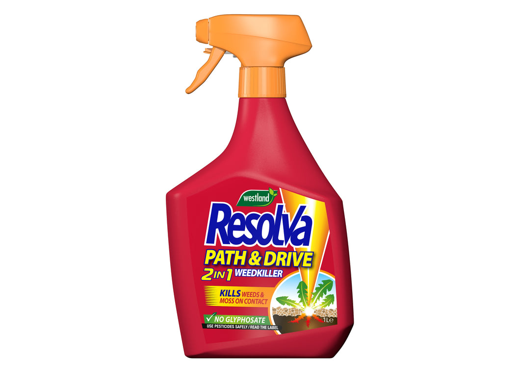Resolva Path and Drive Weedkiller Ready-to-use 1L