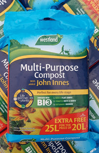 Multi Purpose with added John Innes 25L