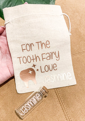 Open image in slideshow, CHILDREN'S CUSTOMISED TOOTH FAIRY KIT