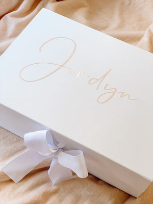 Open image in slideshow, BLACK BRIDAL PARTY PROPOSAL BOXES