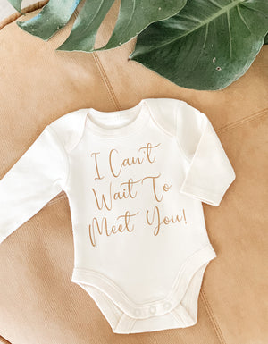 Open image in slideshow, CUSTOM BABY ONESIE - LONG SLEEVE