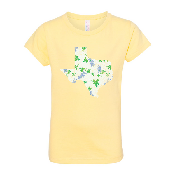 Girls' Bluebonnet Tee
