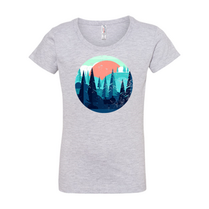 Girls' Forest Tee