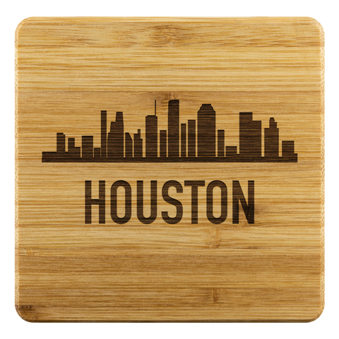 Houston Skyline Coaster - Myneckofthewoods