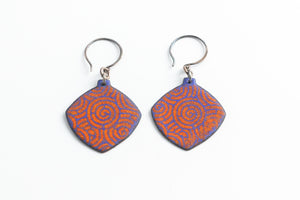 Load image into Gallery viewer, Diamond Shape Earring - Julie Shaw