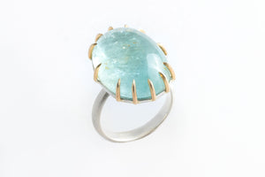 Aquamarine Statement Ring - Hannah Blount