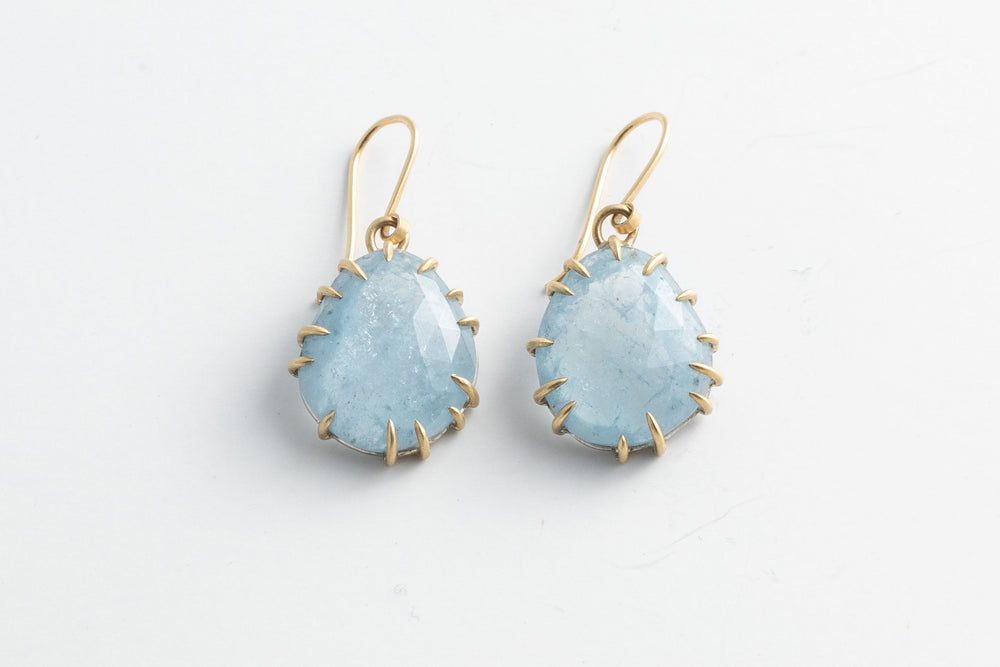 Aquamarine Earrings - Hannah Blount