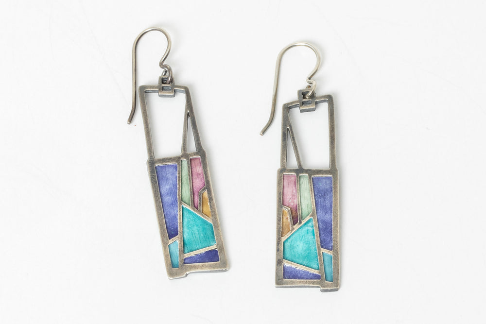 Load image into Gallery viewer, Tower Earrings - Carly Wright