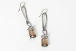 Smokey Quartz Linea Loop Earrings - Sarah Chapman