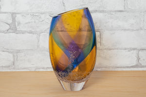 Angled Mouth Vase - Buzz Blodgett