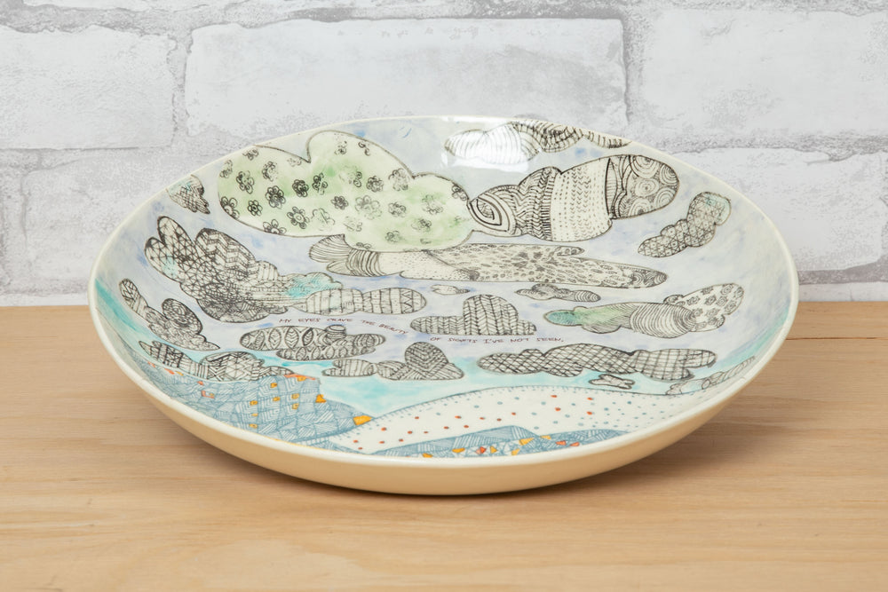 Low Bowl/Platter - Ruchi Gupta