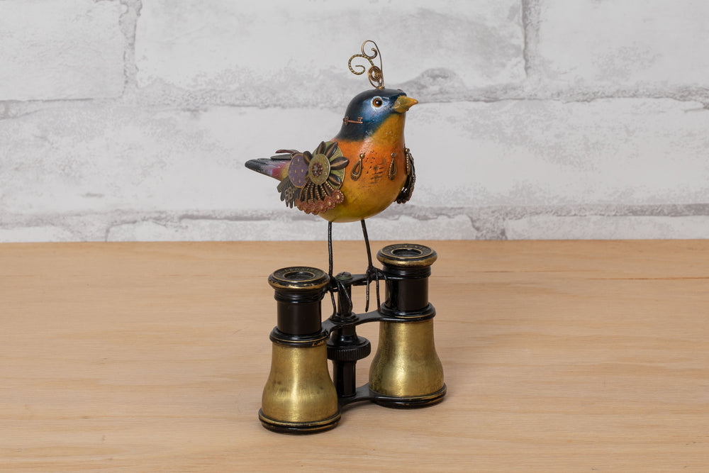 Load image into Gallery viewer, Bird Perched Binoculars - Mullanium