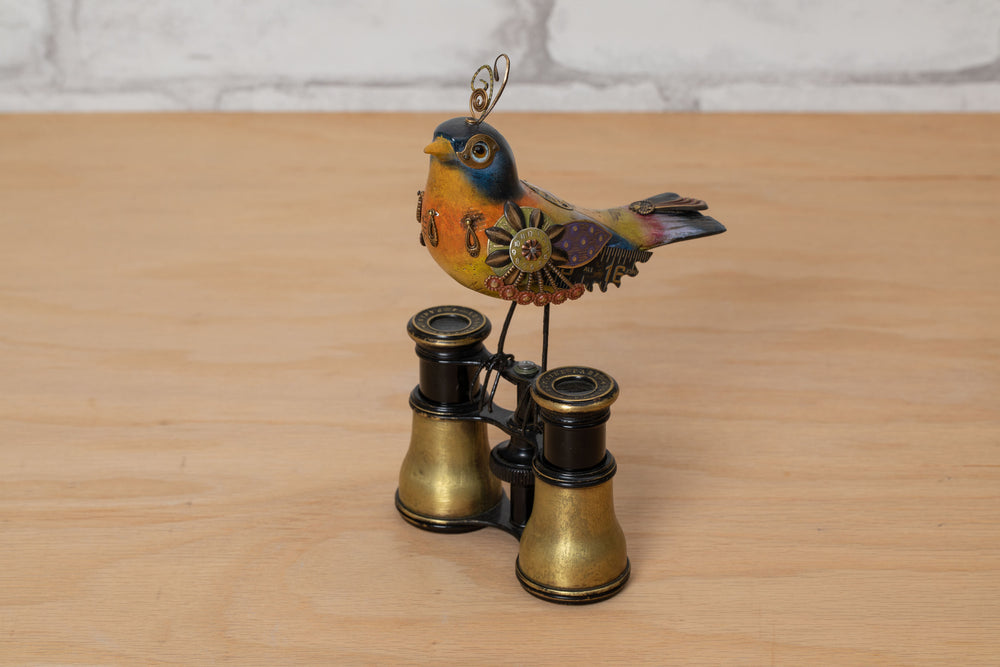 Bird Perched Binoculars - Mullanium
