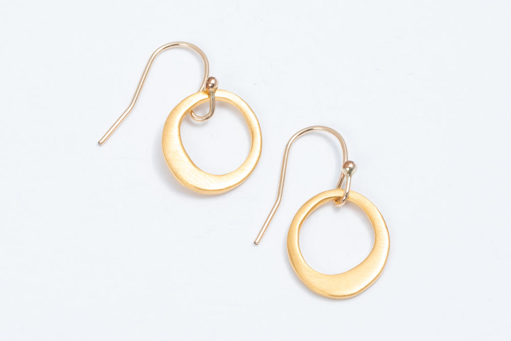 Satin Finish Hoops - Philippa Roberts
