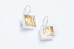 Modern Geometric Earrings - Victoria Varge