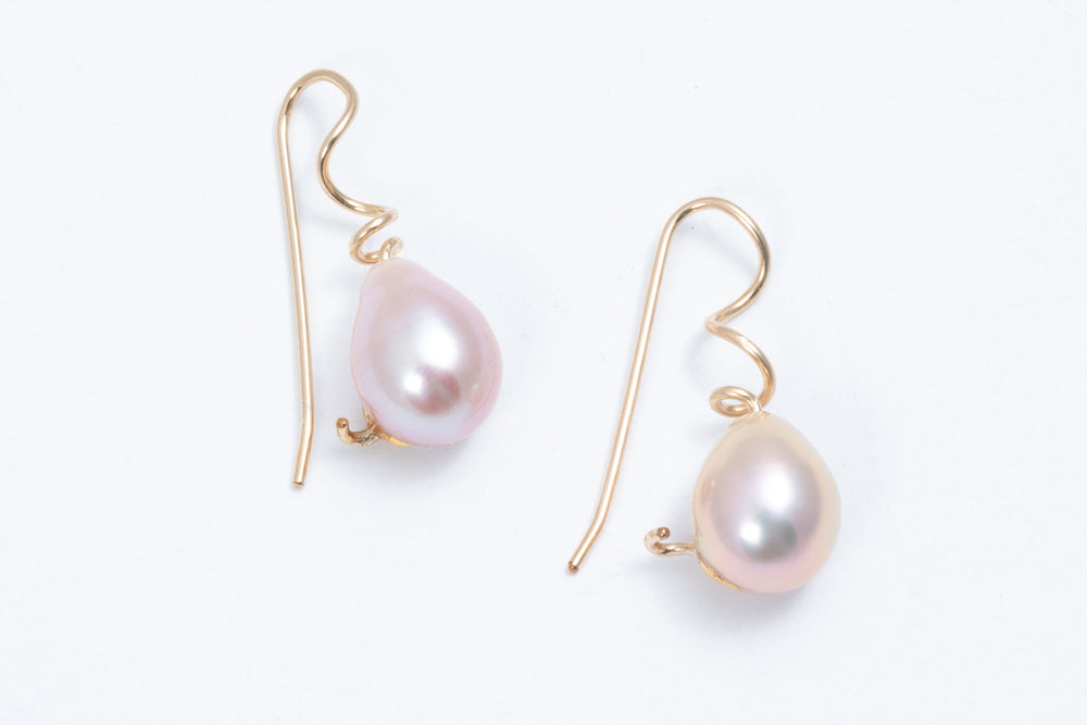 Load image into Gallery viewer, Modern Pearl Earrings - Keith Lewis