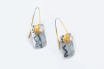Mixed Metals Earrings - Keith Lewis