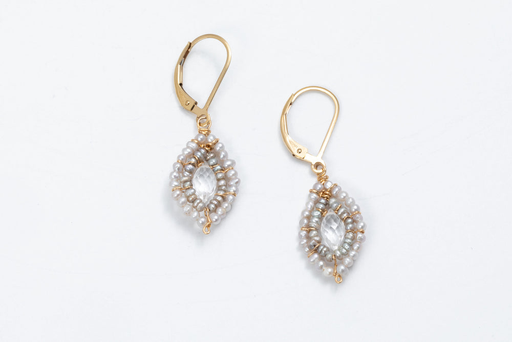 Dainty Pearl Earrings - Michelle Pressler