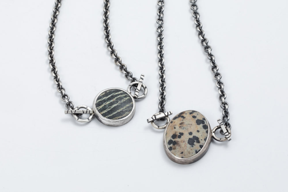 Load image into Gallery viewer, River Stone Necklace - Terri Logan Studio