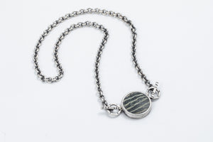 River Stone Necklace - Terri Logan Studio