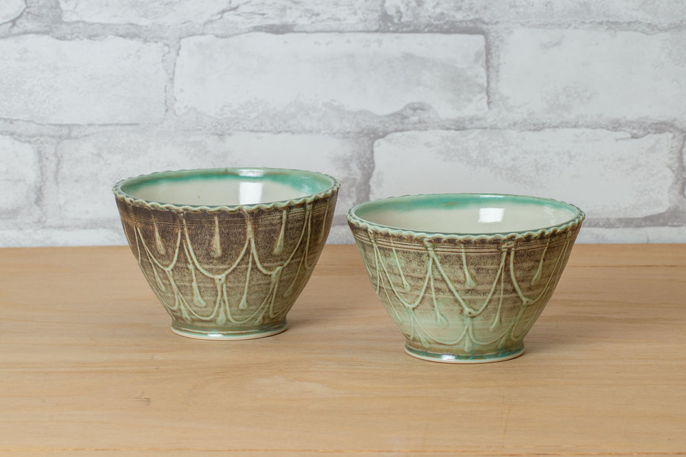 Ceramic Bowl - Amelia Stamps
