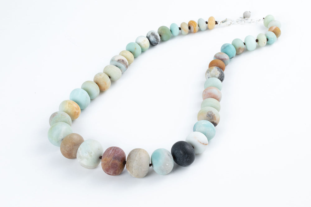 Amazonite Bead Necklace - Amy Kahn Russell