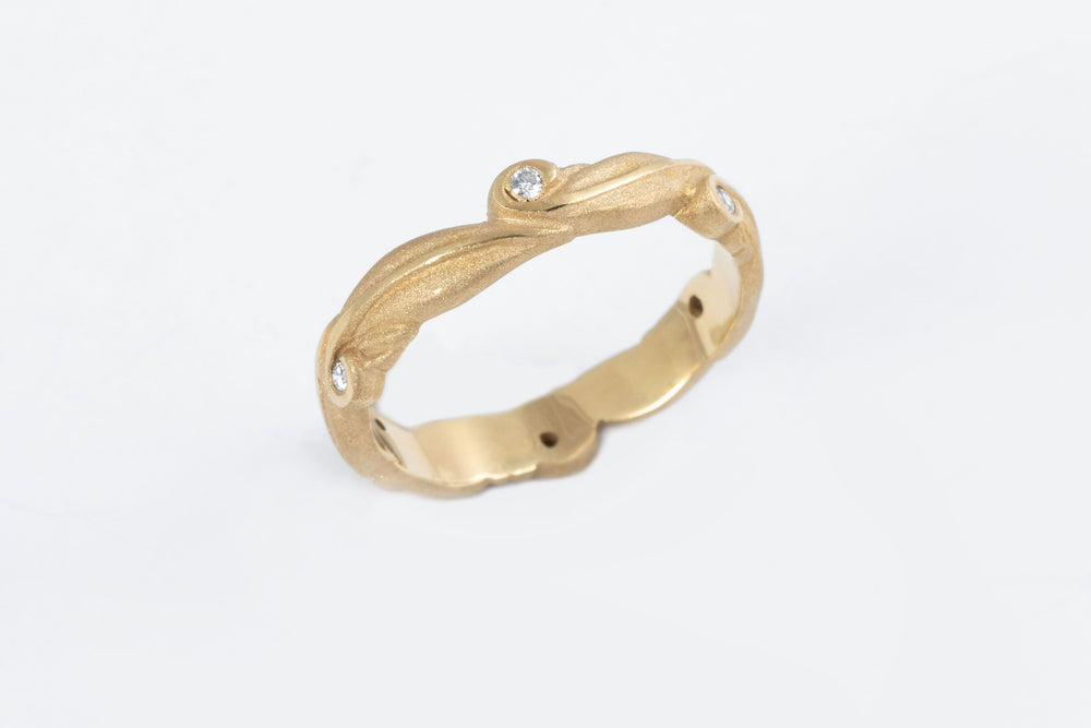 Leaf Motif Ring - Stephen Dixon