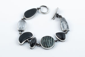 Load image into Gallery viewer, River Stone Bracelet - Terri Logan Studio