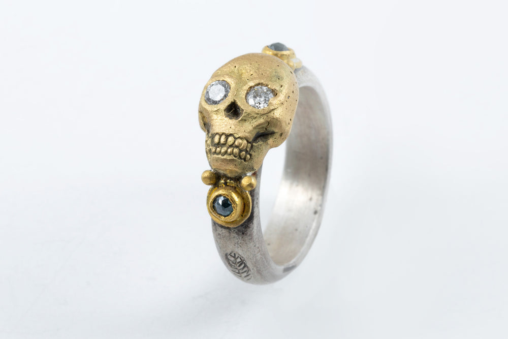 Skull Ring - Melinda Risk