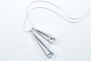 Architectural Shapes Pendant Necklace - Emily Shaffer