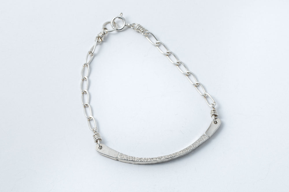 Hammered Arc Bracelet - Diane Couch