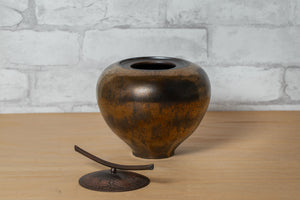 Lidded Vessel - Carol Green