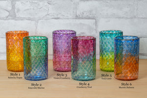 Load image into Gallery viewer, Bubble Tumbler - Gathering Glass Studio