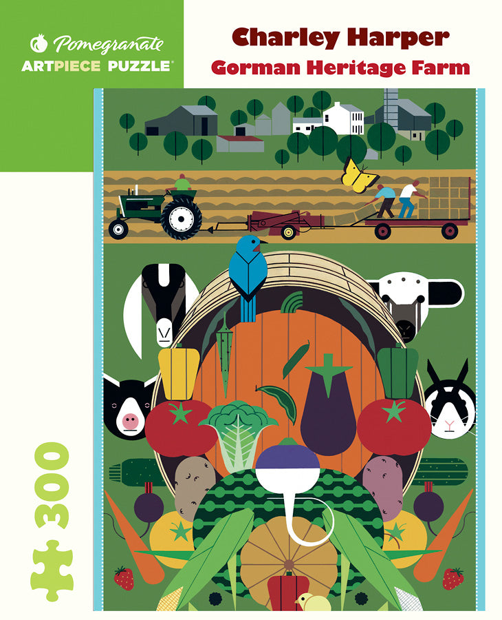 Gorman Heritage puzzle by Charley Harper