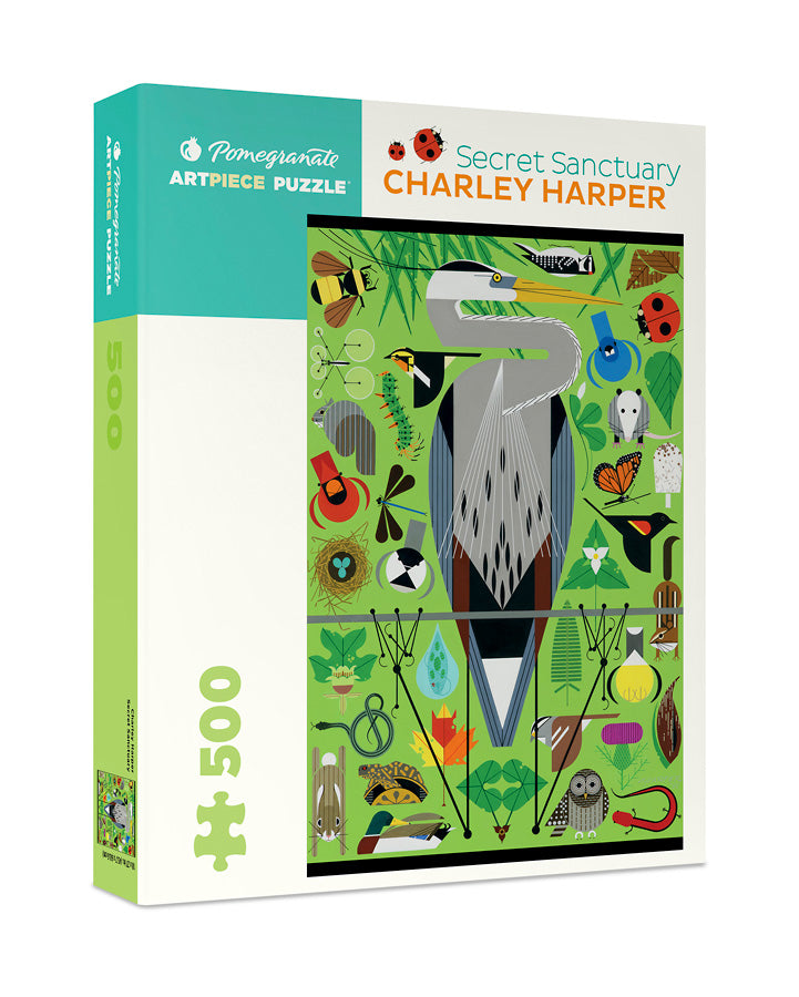 Load image into Gallery viewer, Secret Sanctuary Puzzle by Charley Harper