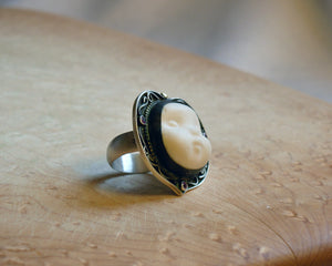 Load image into Gallery viewer, Guardian Angel Ring - Melinda Risk