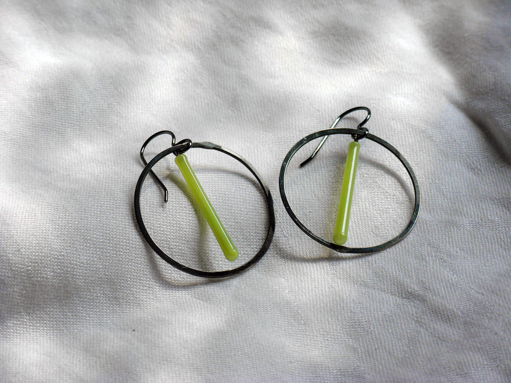 Large Pendulum Earrings - Krista Bermeo
