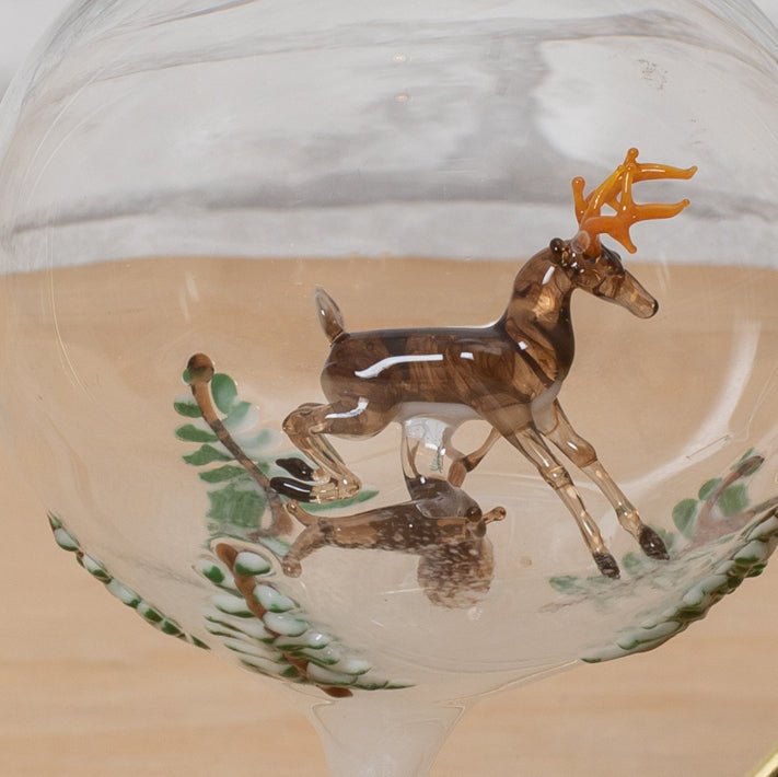 Load image into Gallery viewer, White Tail Deer - Glass Ornament - Steve Scherer
