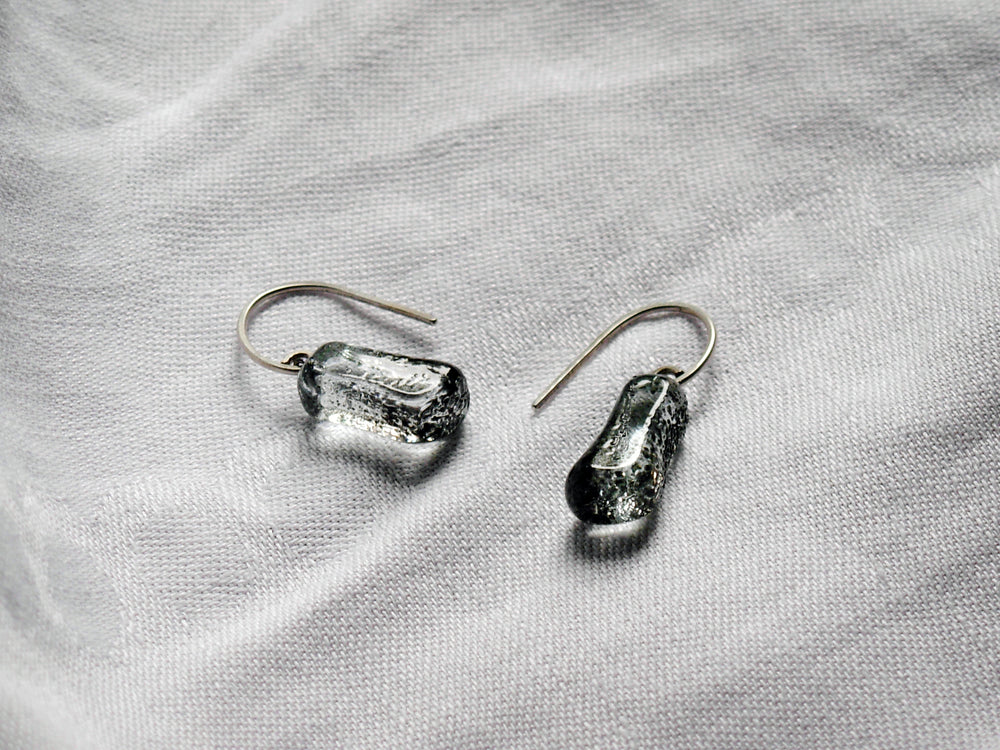 Protest Glass Dangling Earrings - Krista Bermeo