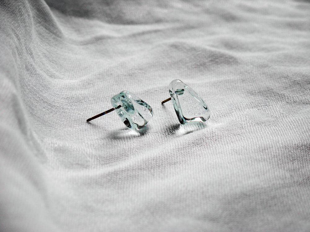 Protest Glass Post Earrings - Krista Bermeo