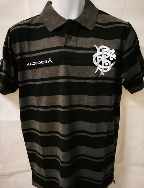 NEW Barbarians Stripe Polo