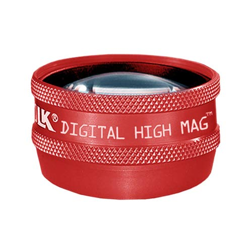Digital High Mag® Slit Lamp Lens | Volk (Red)