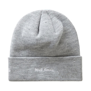 Supreme New Era Box Logo Beanie (FW19) Heather Grey - After Burn