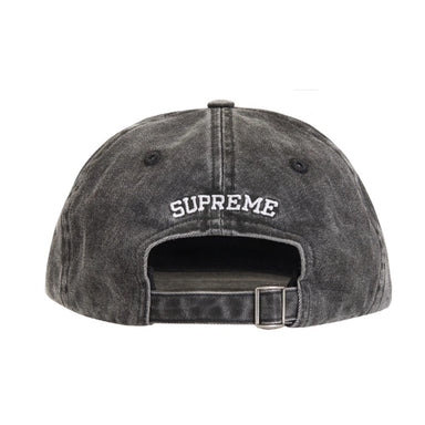 Supreme Pigment Print S Logo 6-Panel Grey - After Burn