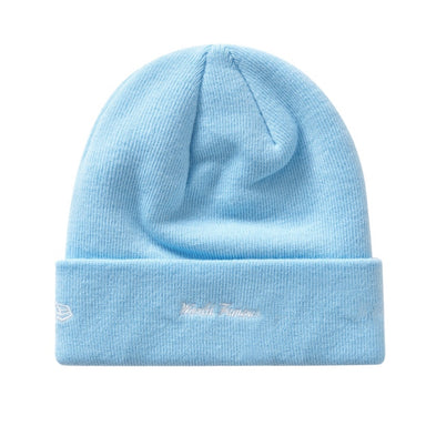 Supreme New Era Box Logo Beanie (FW19) Light Blue - After Burn