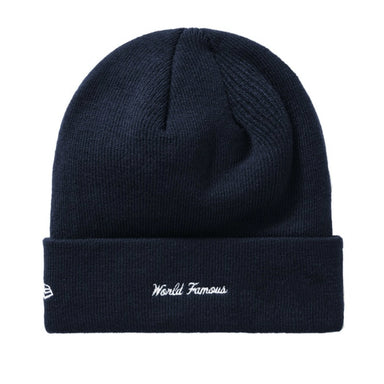 Supreme New Era Box Logo Beanie (FW19) Navy - After Burn