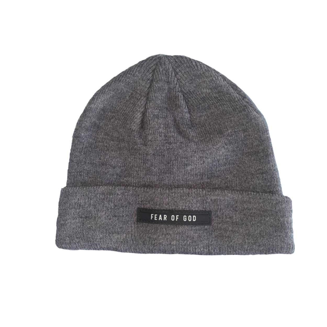 FEAR OF GOD Cuff Beanie Dark Grey - After Burn